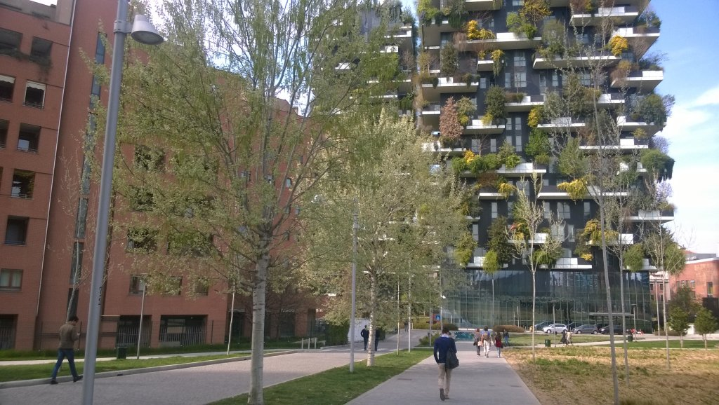 Milano. Bosco verticale / Vertical Forest
