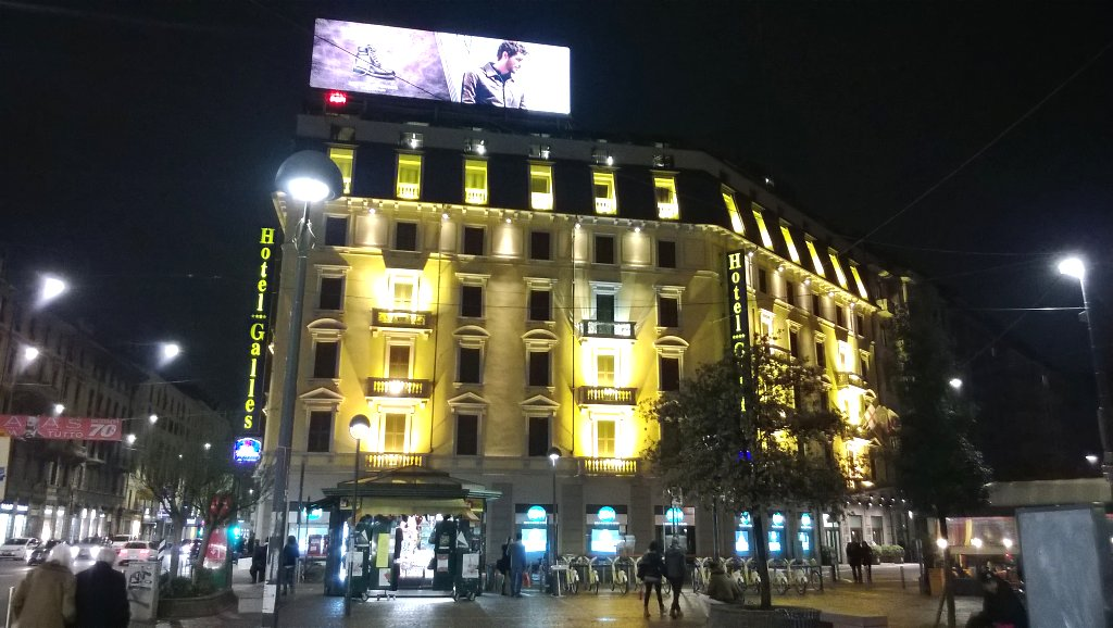 Hotel Galles Piazza Lima Milano