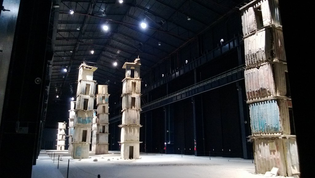 The Seven Heavenly Palaces, Hangar Bicocca, Milano